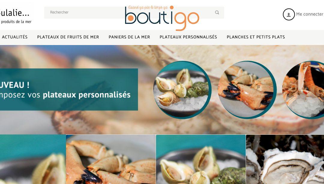 Commander en ligne avec Monboutigo «Click&Collect»